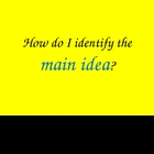 Main Idea Powerpoint (Interactive Teaching Strategy)