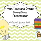 Main Idea & Summarizing Powerpoint Presentation