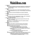 MainIdeas.com: A summarizing main ideas lesson
