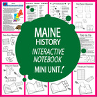 Maine History Lesson-Common Core-Audio Included