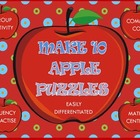 Make 10 Apple Puzzles