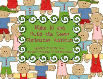 Make 10 and Build the Teens Christmas Addition Pack (Commo