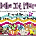 Make It Plural- Regular and Irregular Plural Nouns Fun