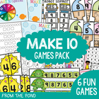 Make Ten - Addition Game Center - Combinations to Ten