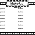 Make-Up Work Poster