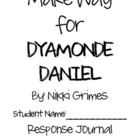Make Way for Dyamonde Daniel Reading Response Journal & Ac