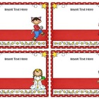 Make Your Own Book Box Labels - Fairy Tales