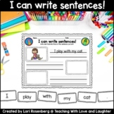 I Can Write Sentences!
