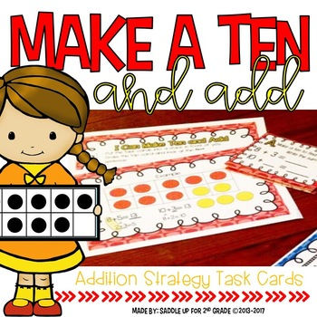 Make a Ten and Add Task Cards