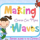 Makin' (Common Core) Waves Math Games for the end of the year