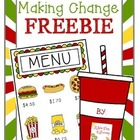 Making Change Freebie