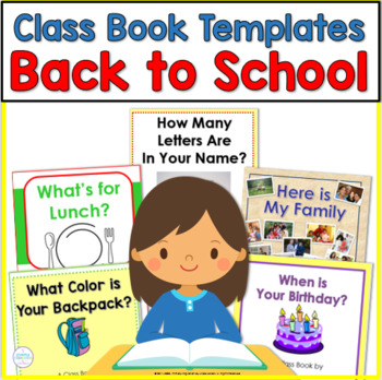 Making Class Books: Back to School Themes