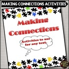 Making Connections Package - Activities to Use for ANY Text
