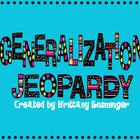 Making Generalizations: Jeopardy Game