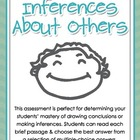 Making Inferences About Others - Multiple-Choice Assessmen