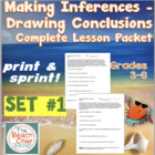 Making Inferences - Drawing Conclusions - Complete Lesson Packet