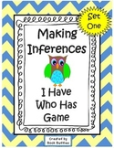 Inference Text Passages - I Have Who Has Game