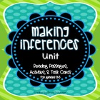 Making Inferences Unit, Grades 3-5, Common Core Reading
