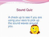 Making Sense of Sound Waves! Science center ideas & assessment!