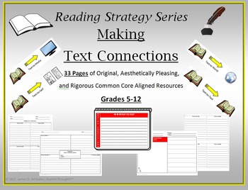 Making Text Connections Unit Resource Common Core
