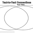 Making Text To Text Connections Worksheet