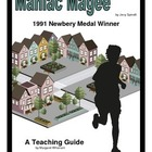 Maniac Magee     A Novel Teaching Pack