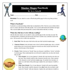 Maniac Magee Facebook Reading Characters Activity Common Core