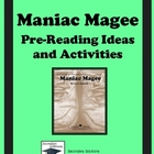 Maniac Magee Pre-Reading Ideas and Activities