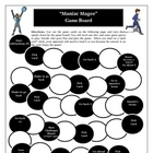 Maniac Magee Reading Game Board Fun Activity for Novel Review