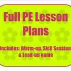 Manipulative Skills - Throw, catch, and Roll Full Lesson Plan