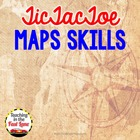 Map Skills TicTacToe Choice Board