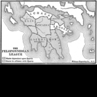 Map of the Peloponnesian League