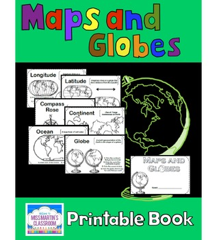 photograph about Printable Globes identified as Maps and Globes - A Printable E-book for Incorporating or Examining Map Abilities