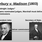 Marbury v. Madison (PPT)