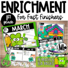 March Enrichment/Early Finishers*First Grade*