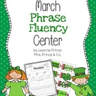 March Fluency Phrases Center