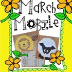 Lion & Lamb Interactive March Mobile Craftivity & Accordio