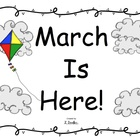 March Is Here Sight Word Reader