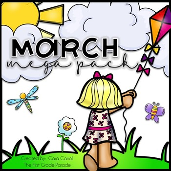 March Madness Mega Pack {Seasonal Math & Literacy Activities}