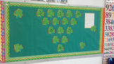 March Math Puzzle Bulletin Board