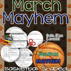 March Mayhem Basketball Flip Flap Book