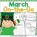 March On-The-Go (Math and Literacy Printables)