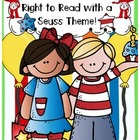 "March ""Right to Read Week"" -Reading, Writing, Word Work & Craft!"