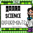 March Science Experiments