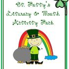 March: St. Patrick's Day: Literacy and Math Activity Pack