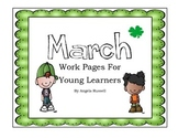 March Work Pages For Young Learners