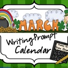March and Spring Writing Prompt Calendar ~ {Common Core St