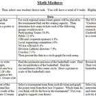 March/Math Madness