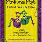 Mardi Gras Magic Math and Literacy Activities
