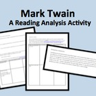 Mark Twain Life on the Mississippi Ch8-9 Reading Guide & A